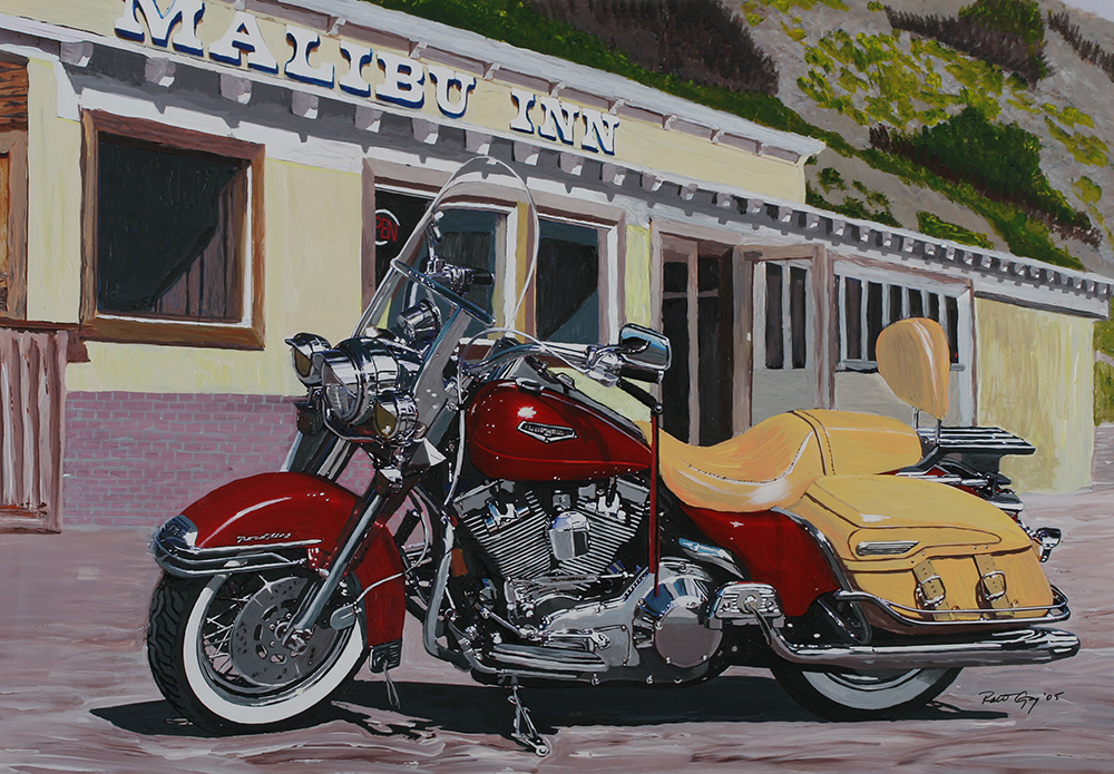 PAINTING-road king1000